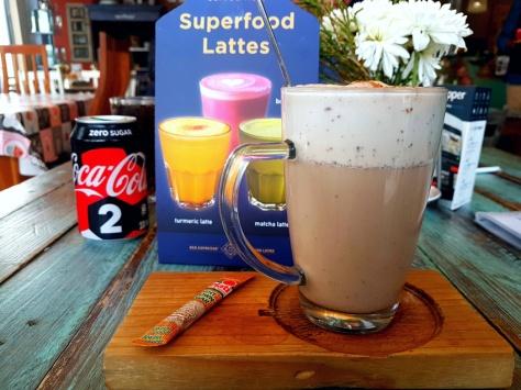 Cup & Cake chai latte