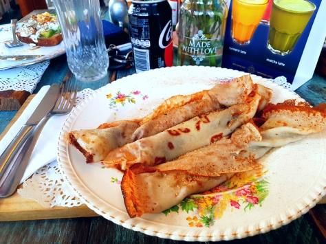 Cup & Cake pancake breakfast