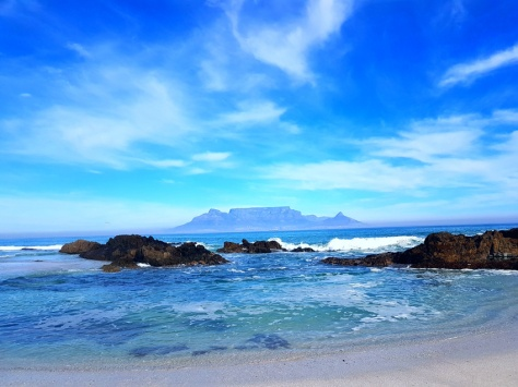 Cold Cape Town sea