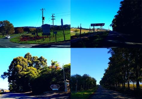 Signs to Clos Malverne in Stellenbosch