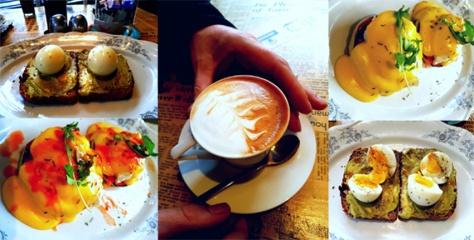 Cup & Cake breakfast