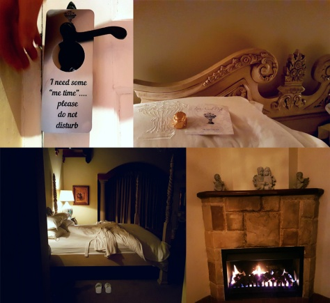 Franschhoek Country House door hanger and fireplace