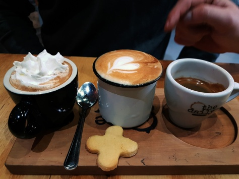 Coffee tasting tray