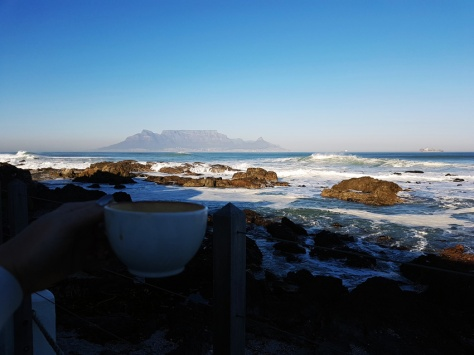 Coffee at On The Rocks and Table Mountain