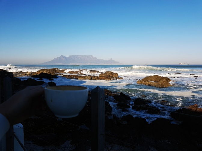 Winter weekend beach breakfasts and sea swims