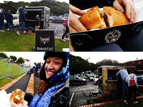 Nob food truck at rugby