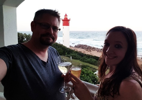 Cheers at the Oysterbox