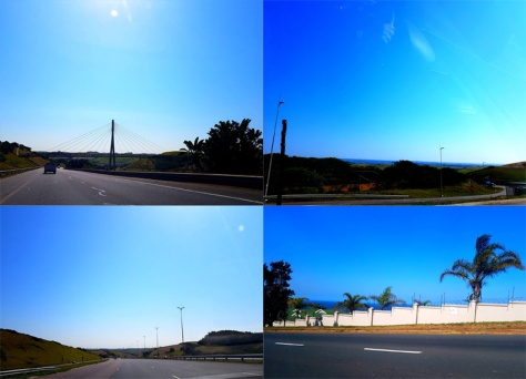 Umhlanga roads.