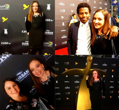Saturday night Loeries red carpet