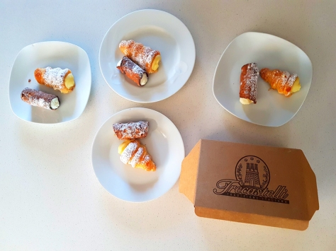 Trecastelli pastries