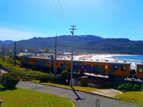Train in Fish Hoek