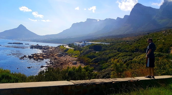 The Fat Greek, Cape Town's spring flowers and Hout Bay roadtripping