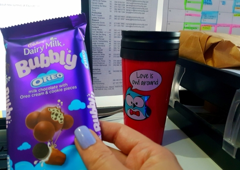 Dairy Milk Bubbly Oreo