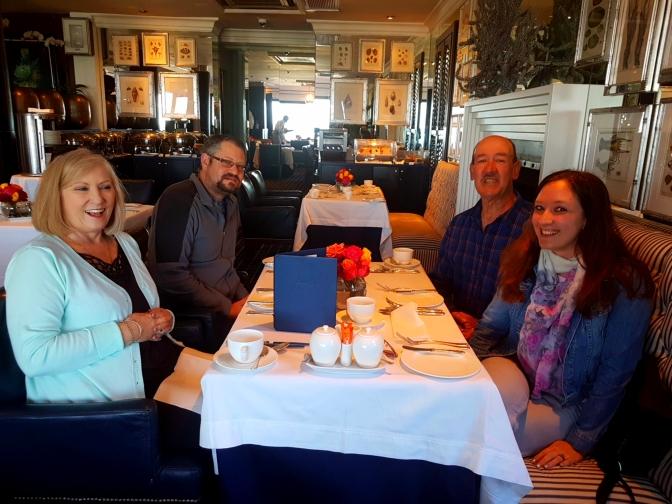 Celebrating parents' 40th anniversary: ruby chocolate & 12 Apostles' breakfast