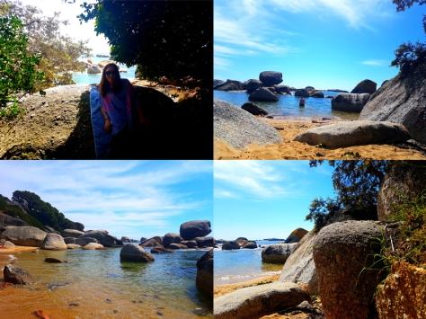 Swimming at Cosy Bay