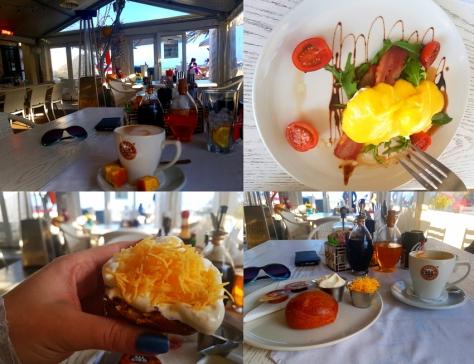 Damhuis in Melkbos breakfast
