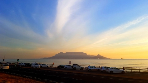 Table Mountain from Table Bay.