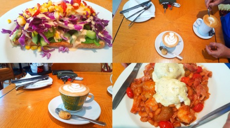 Breakfast at Mugg & Bean