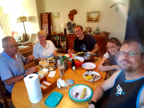 Family braai