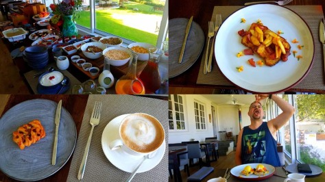 Breakfast at La Petite Ferme