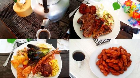 Food at Strand Kombuis
