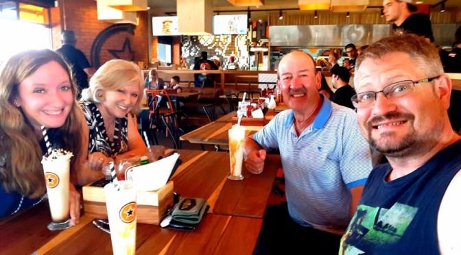 NOB burgers, Rocomama's ribs and new year swims at Shark Bay