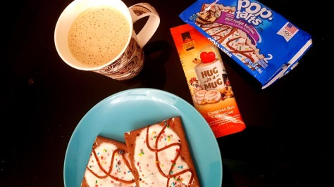 Hug in a Mug and Pop Tarts