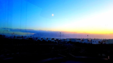 Sun set in Big Bay