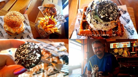Waffles, shakes and burgers at Rocomama's