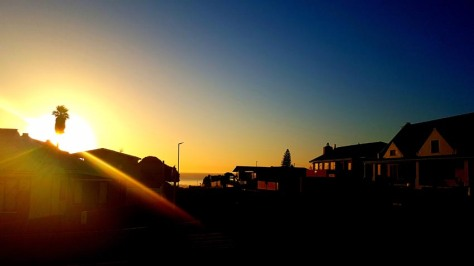 Sunset in Gansbaai