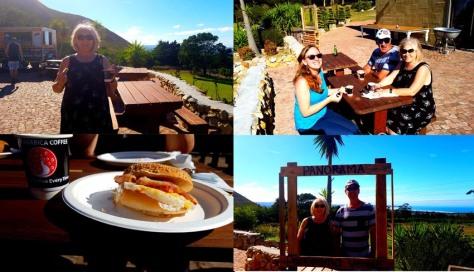 Breakfast at Panorama Farm