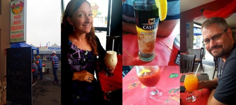 Cocktails at Giovanni's in Gansbaai