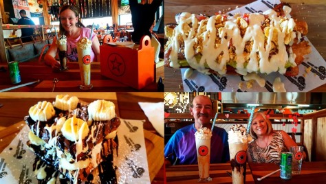 Waffles, hot dogs and shakes at Rocomama's