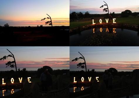 Sunset at Panorama Farm