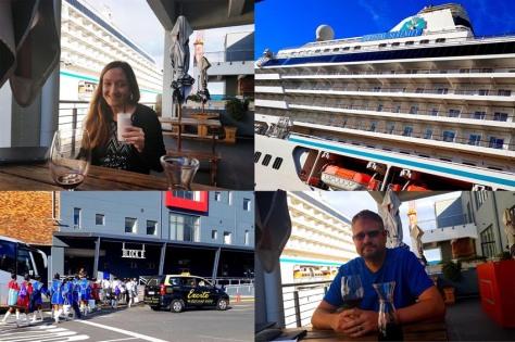 Blueberry shake at Panama Jacks