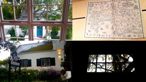 Views of windows, from windows and maps from Akademie Street Boutique Hotel.