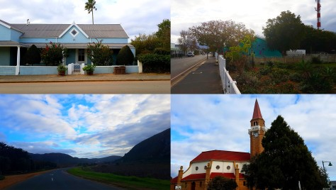Some of the pretty sights on our quick ride fpr supplies along Queen VIctoria road in the heart of Stanford.