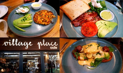 We decided on Village Place in West Coast Village for Mother's Day breakfast as it's a fairly central meeting point for all exept Spec, who drove through from Fish Hoek side to join us. See some of the lovely breakfast things we ate.