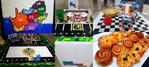 Last Tuesday, I attended Spark Media's Roots2019 research launch at the River Club. See some of the intriguing displays made from Lego - behind glass so they wouldn't be messed with (and snacks, meant for eating!)