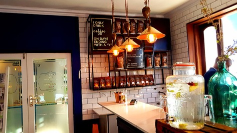 The takeaway coffee hutch next to On the Rocks is also a lovely spot to explore.