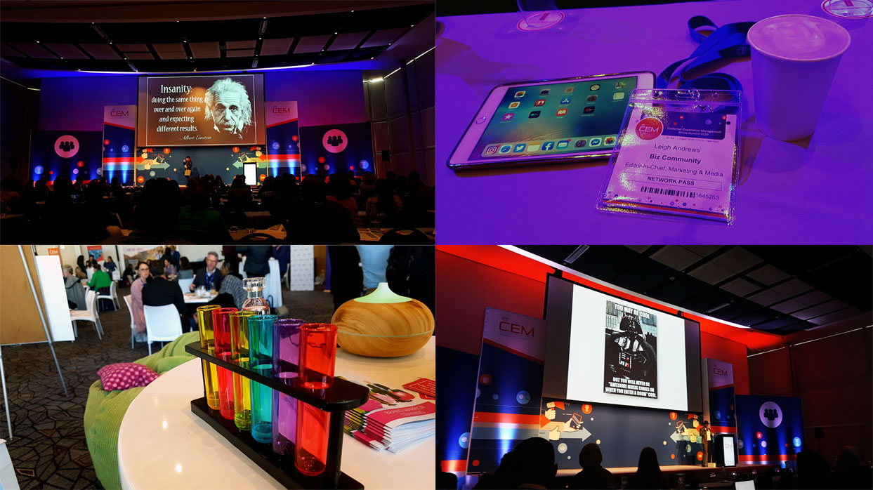 The 8th CEM (Customer Experience Management) Africa Summit took place on Wednesday and Thursday at the CTICC. See some of my favourite moments here, and click here for my overview of how government is reducing red tape in the experience economy.