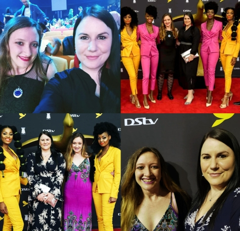 Red carpeting! See our outfits from Friday night at the Loeries at the Durban ICC in the top row and Saturday night on the bottom row.