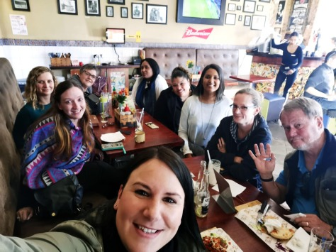 Say cheese! We had our much-awaited team lunch at the Fat Cactus last Friday, walking distance from the office. Even Rod was there!