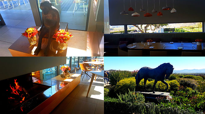 Some of the lovely sights at Cavalli, which means 'horse' in Italian.